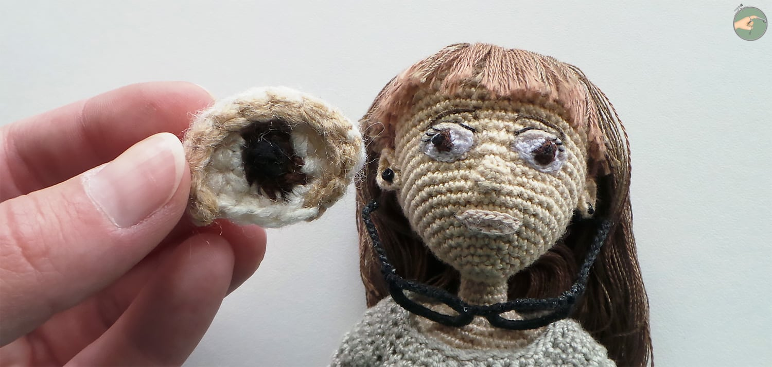 Tutoriel Yeux Amigurumi - Photo 01