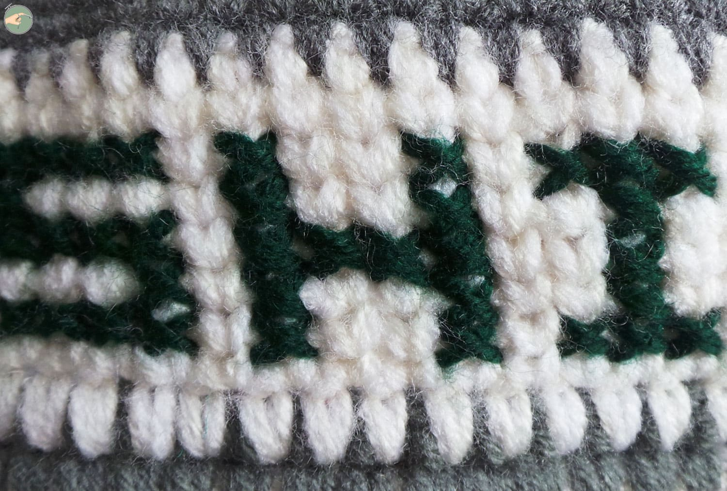 Single Crochet Knit Like & Cross Stitch