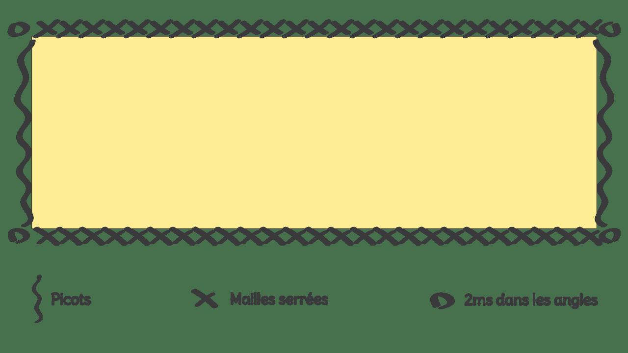 Nœud Papillon - Schéma bordure