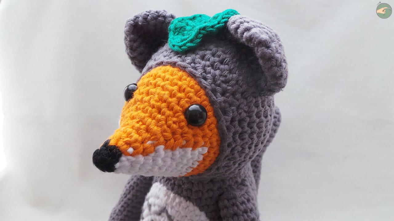 Fox in Totoro Suit - Photo 01