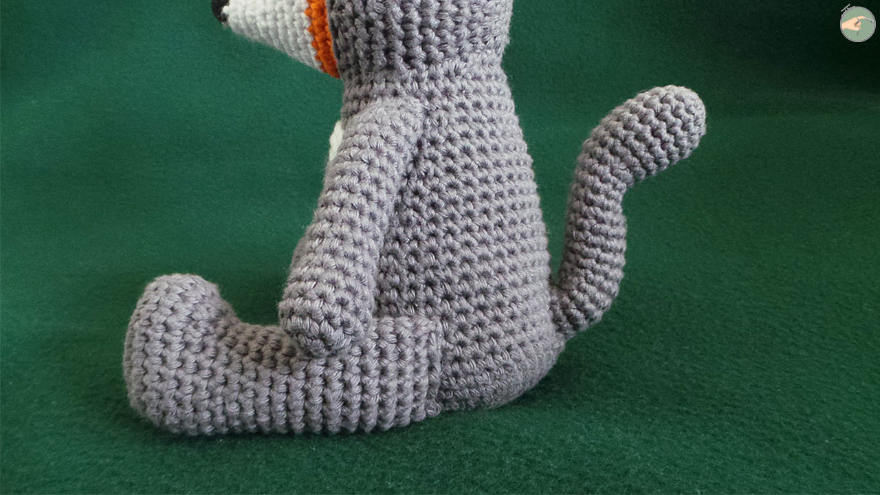Fox in Totoro Suit – Photo 03