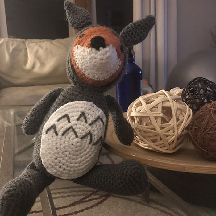 Totoro Fox - Ann Marie Makes