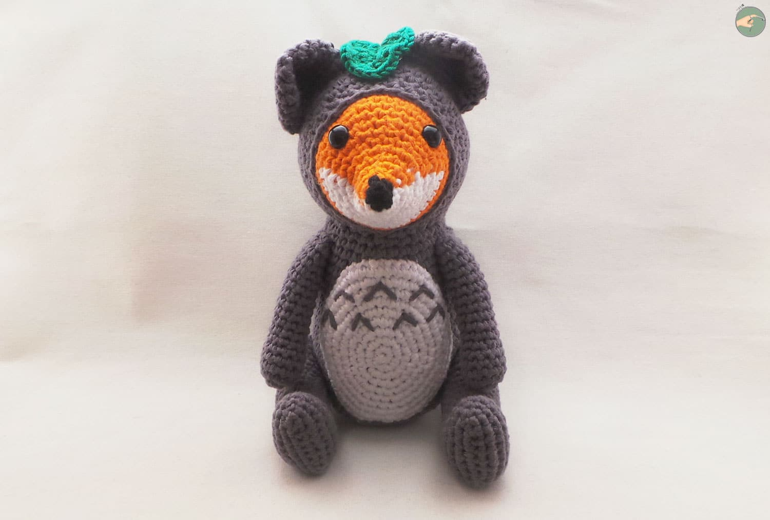 Fox in Totoro Suit – Crochet Pattern