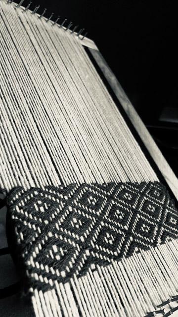 Hand Weaving Project - Burnt Sienna