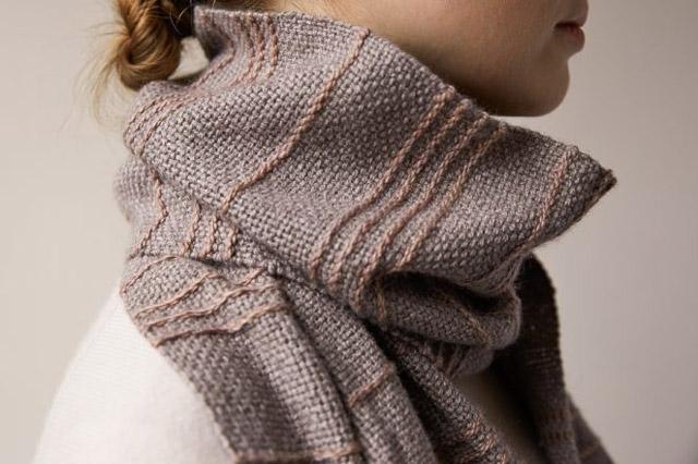 Soumak Weave Scarf - Purl Soho