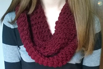 Snood Bordeaux