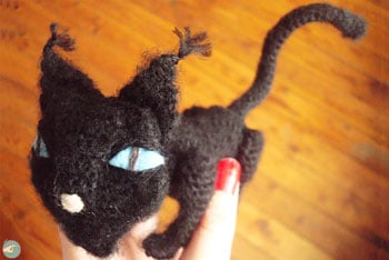 Black Cat from Coraline