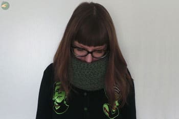 Reversible Green Snood
