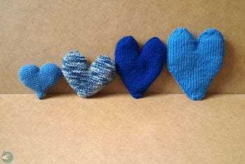 Blue Hearts for Ninoo