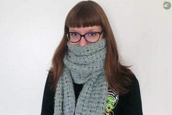 Woven Effect Scarf