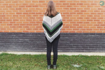 'Tea House Wrap' Shawl