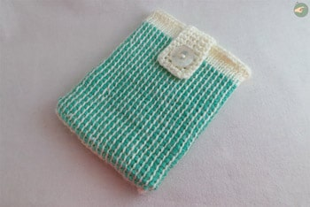 Little Clutch Bag (Tunisian Crochet)