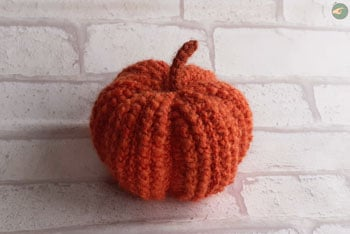 Fall Pumpkin (Tunisian Crochet)