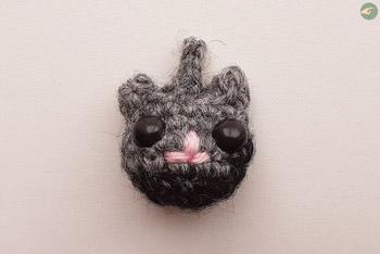Cat's Head Keychain